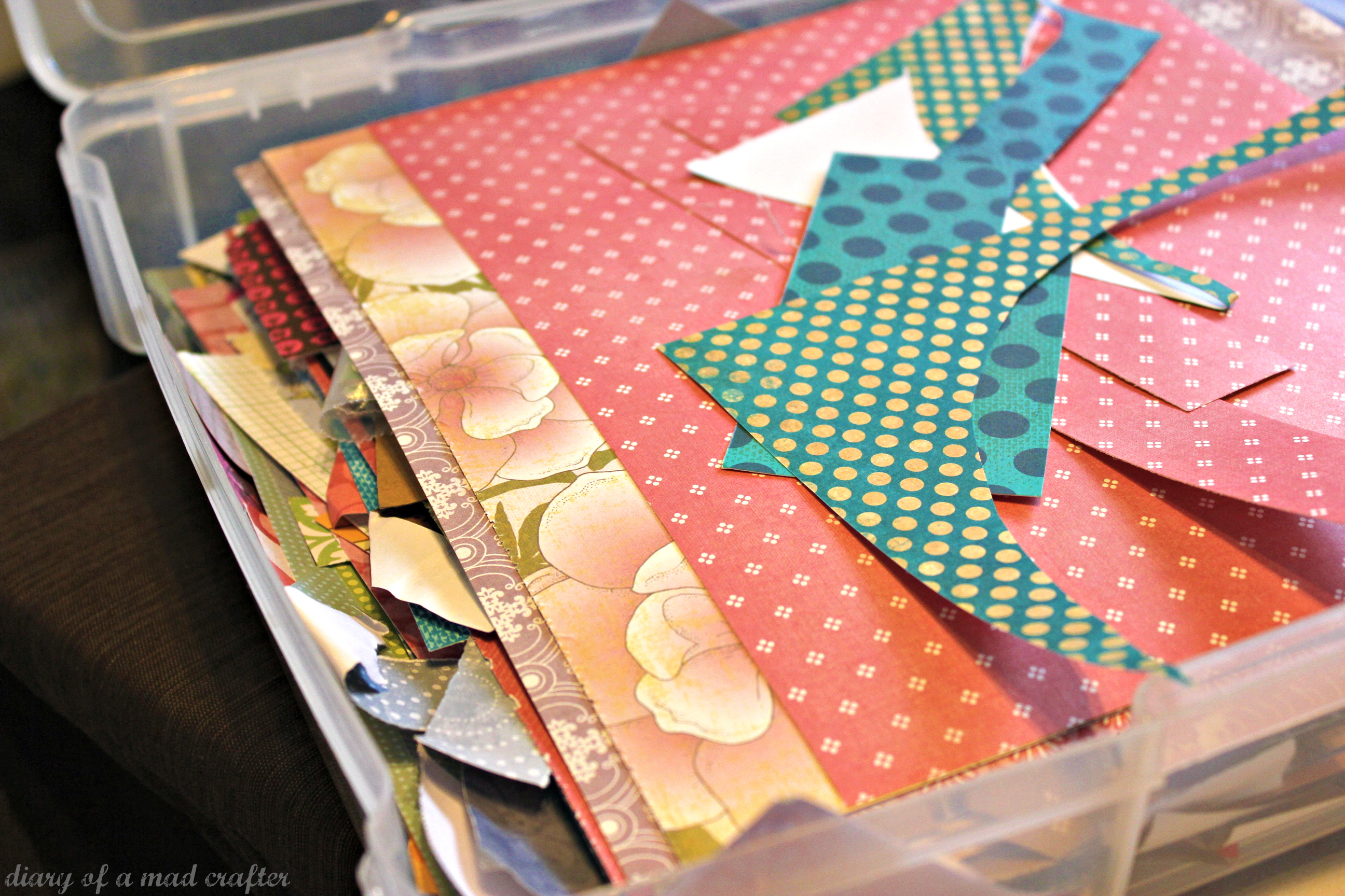 how to make a card out of scrapbook paper