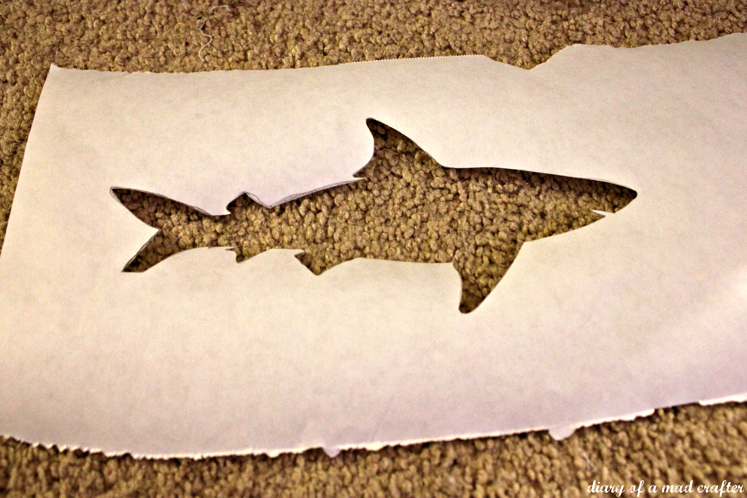 shark day diary of a mad crafter then
