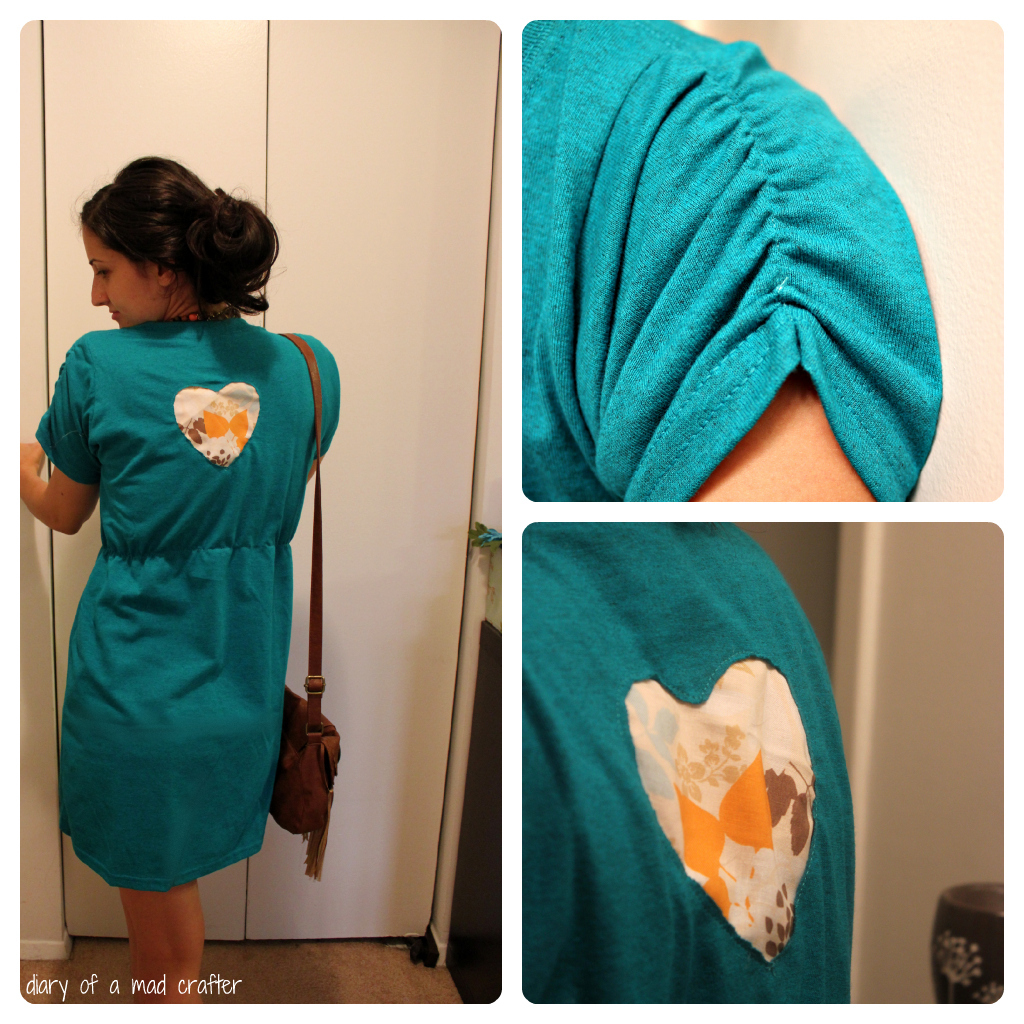 T shirt remodel a tutorial diary of a mad crafter for Make a dress shirt