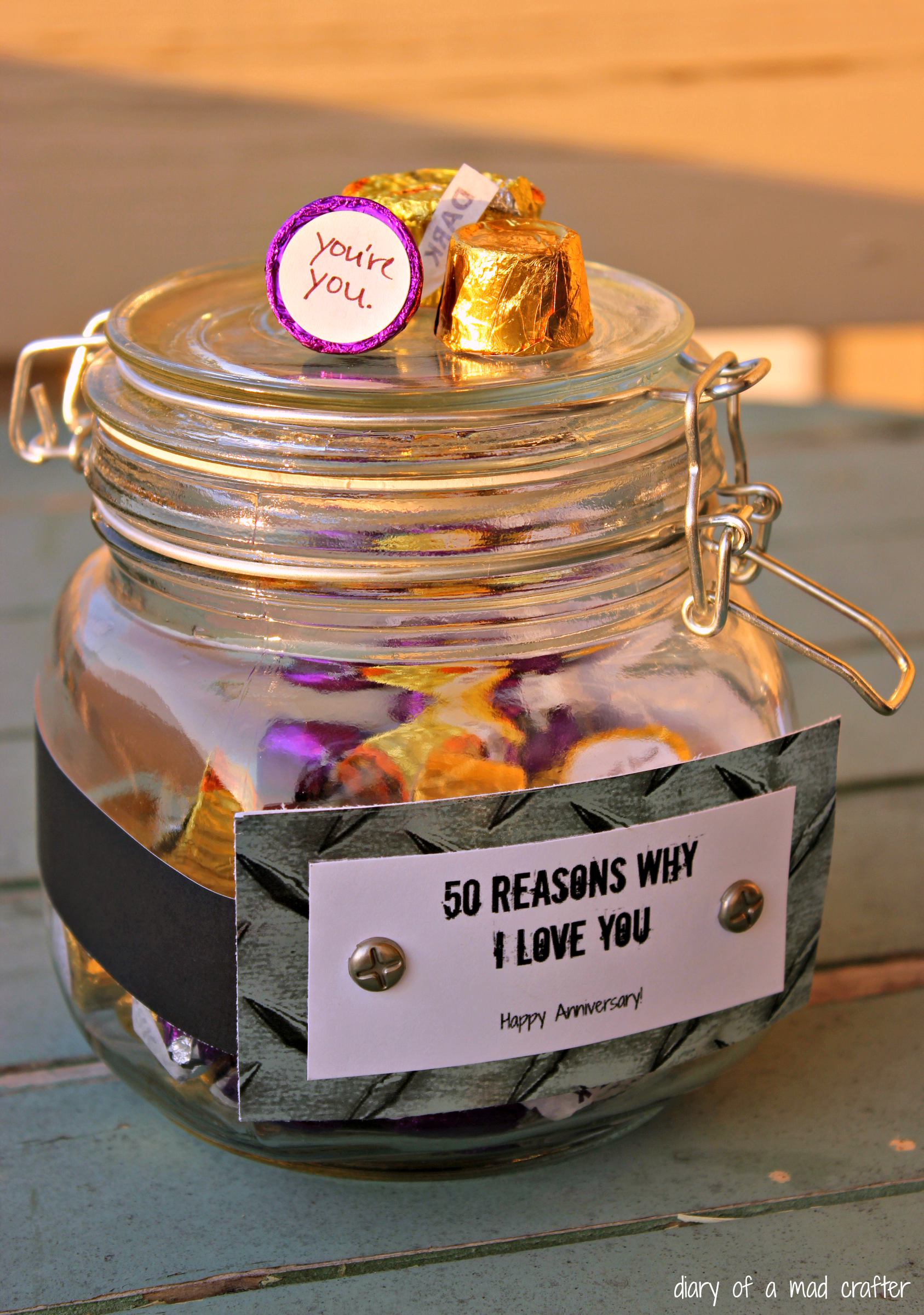 Reasons Why Makeup Is Important: 50 Reasons Why I Love You Jar