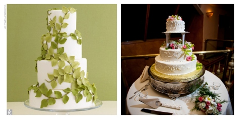Left: I got from theknot.com I believe Right: Taken by Le Conteur Photography