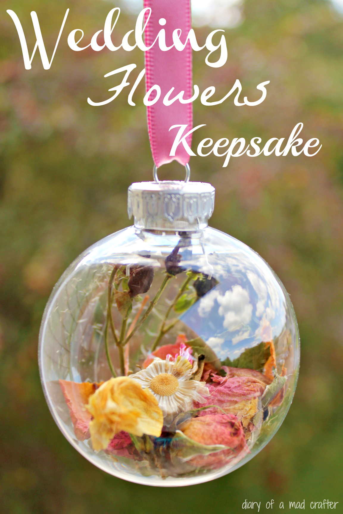 Bridal Bouquet Keepsake An Inspiration Diary of a Mad Crafter