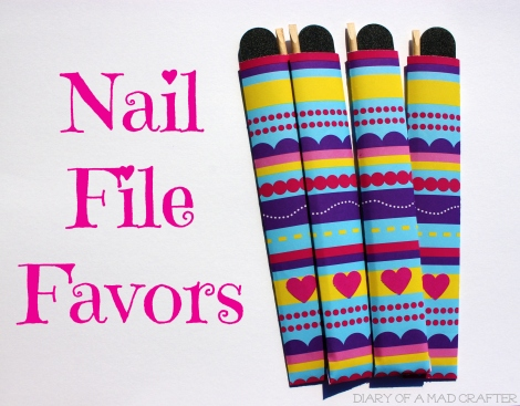 nail file favors