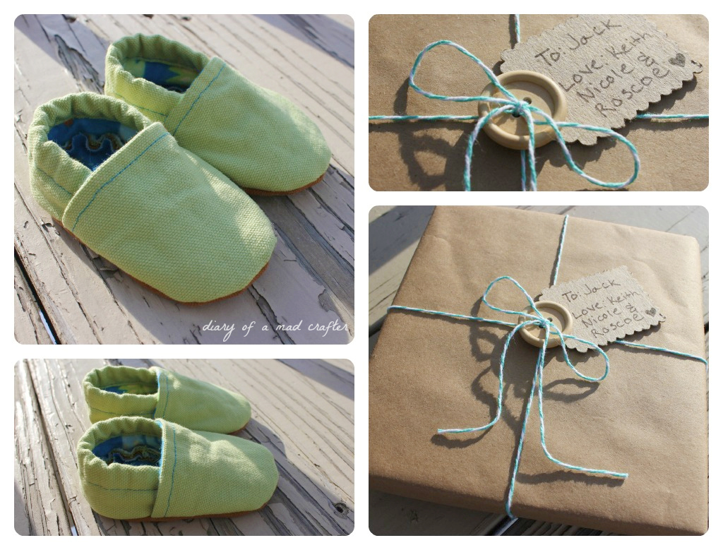 Diy Baby Shoes Diary Of A Mad Crafter