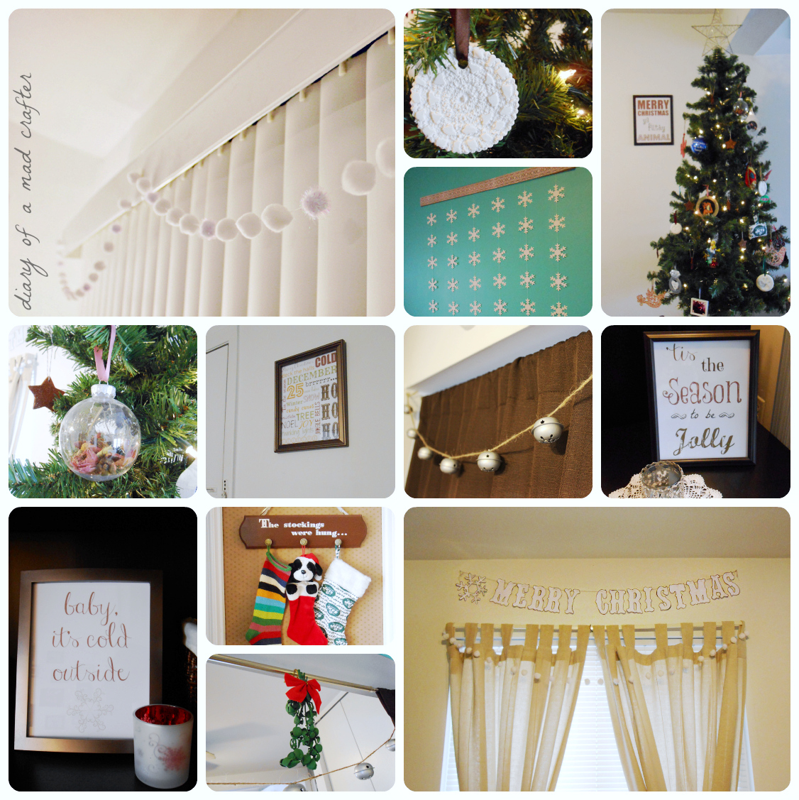 Christmas Decorations 2013: DIY Christmas Decorations