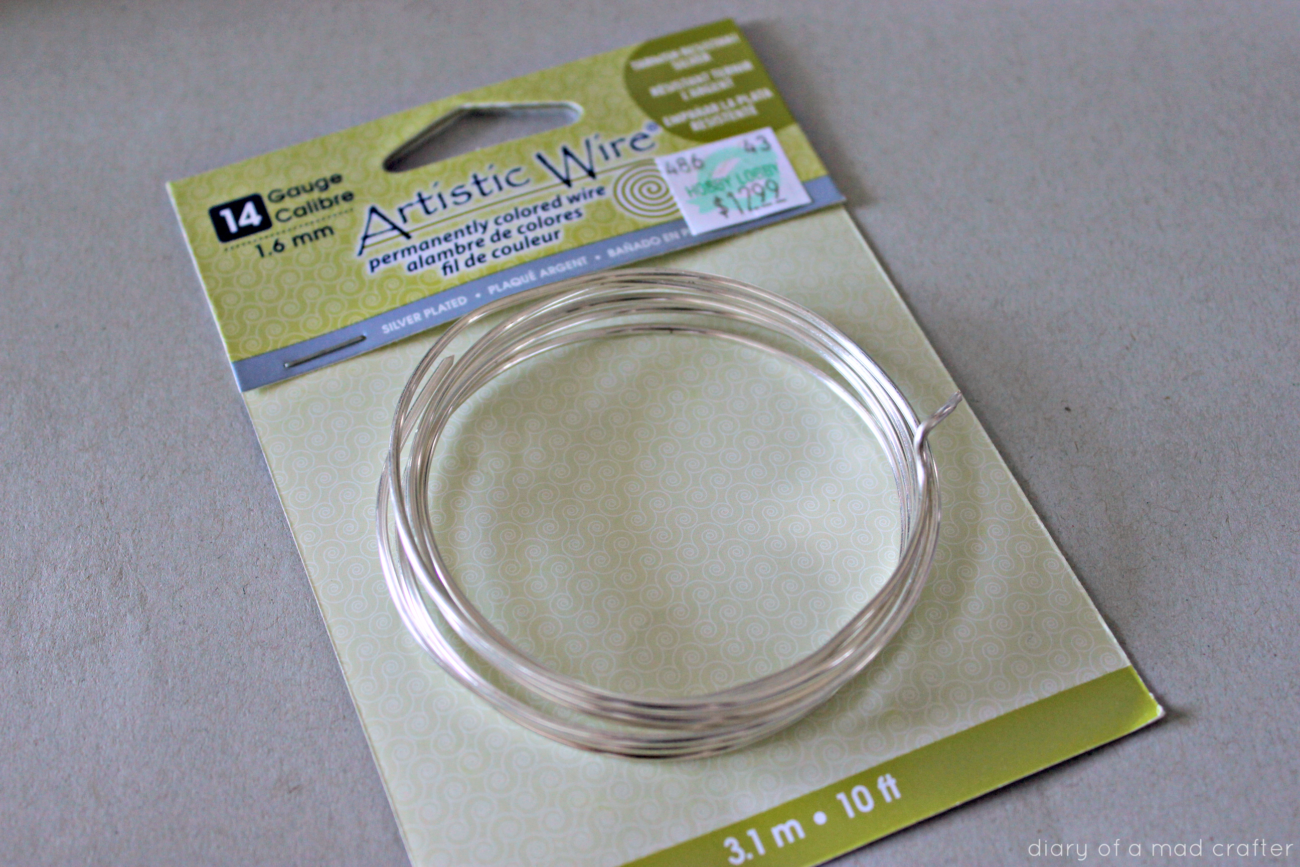 DIY Adjustable Bangle Bracelet | Diary of a Mad Crafter