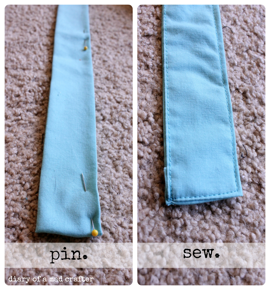 DIY Bathing Towel Apron | Diary of a Mad Crafter