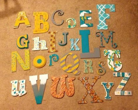 alphabetshower